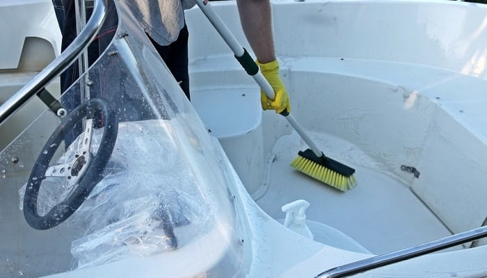best aluminum boat cleaner