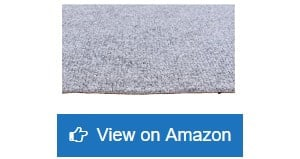 House, Home and More Indoor Outdoor Carpet (6 Feet x 10 Feet, Grey)