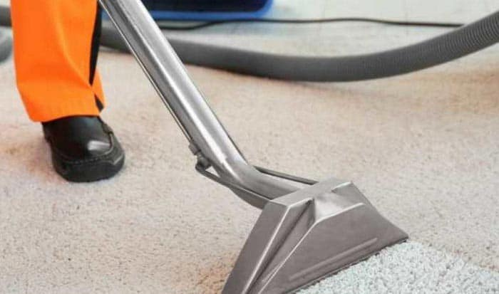 cleaning boat carpet