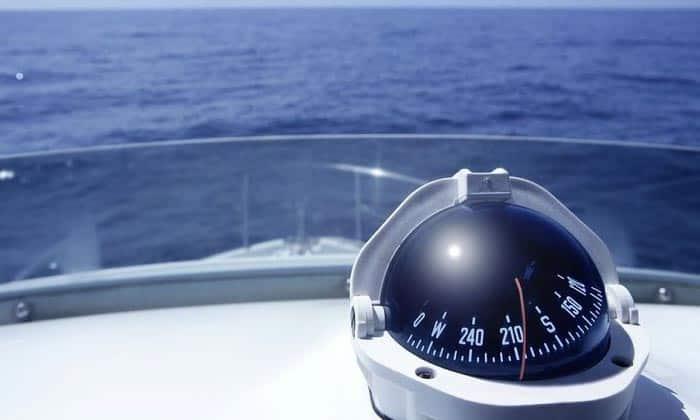 small boat compass