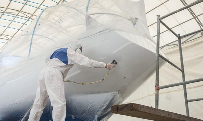 how much does it cost to paint boat