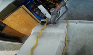 how to clean a boat fuel tank without removing it